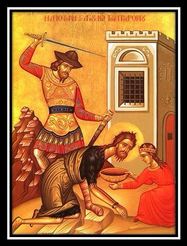 9-11 Feast of the Beheading of St. John the Baptist