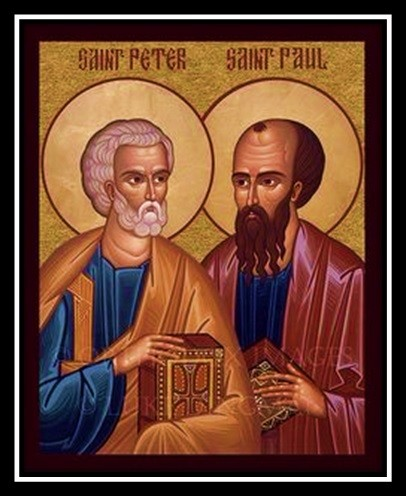 July 12 – Holy Apostles Peter & Paul