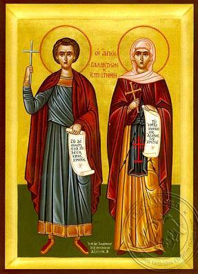 saints-galacteon-his-wife-episteme-martyrs-at-emesa-hand-painted-byzantine-icon-7174